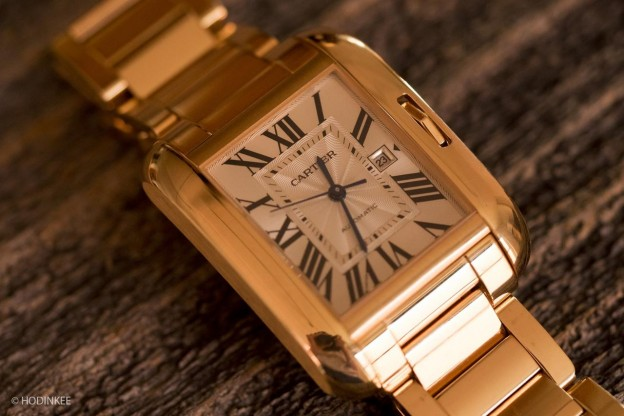 Hands-On With The Replica Cartier Tank Anglaise