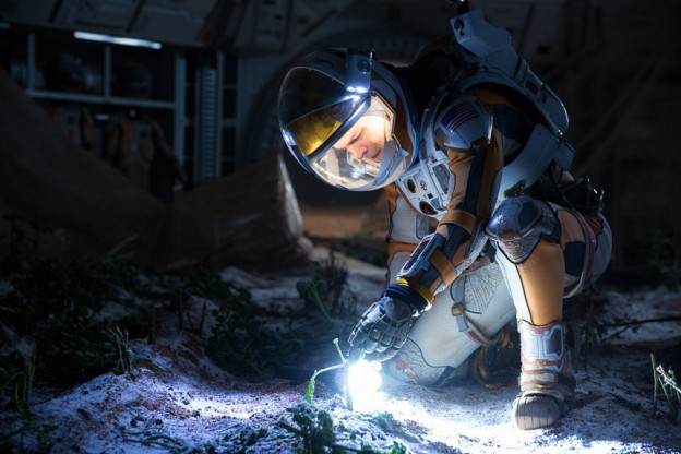 The Martian Movie Watch: Matt Damon Wears A Replica Hamilton Khaki Navy BeLOWZERO