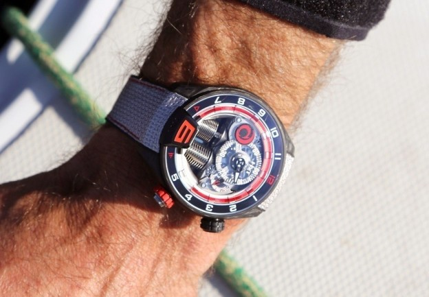 Replica HYT H4 Alinghi Special Edition Watch