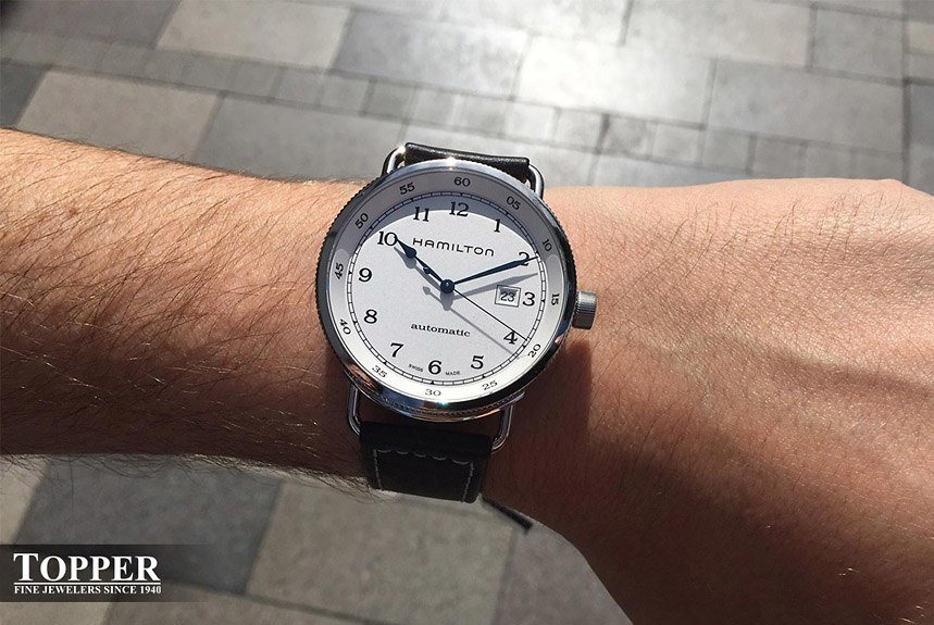Topper S Favorite Swiss Watch Under 1 000 Replica Hamilton