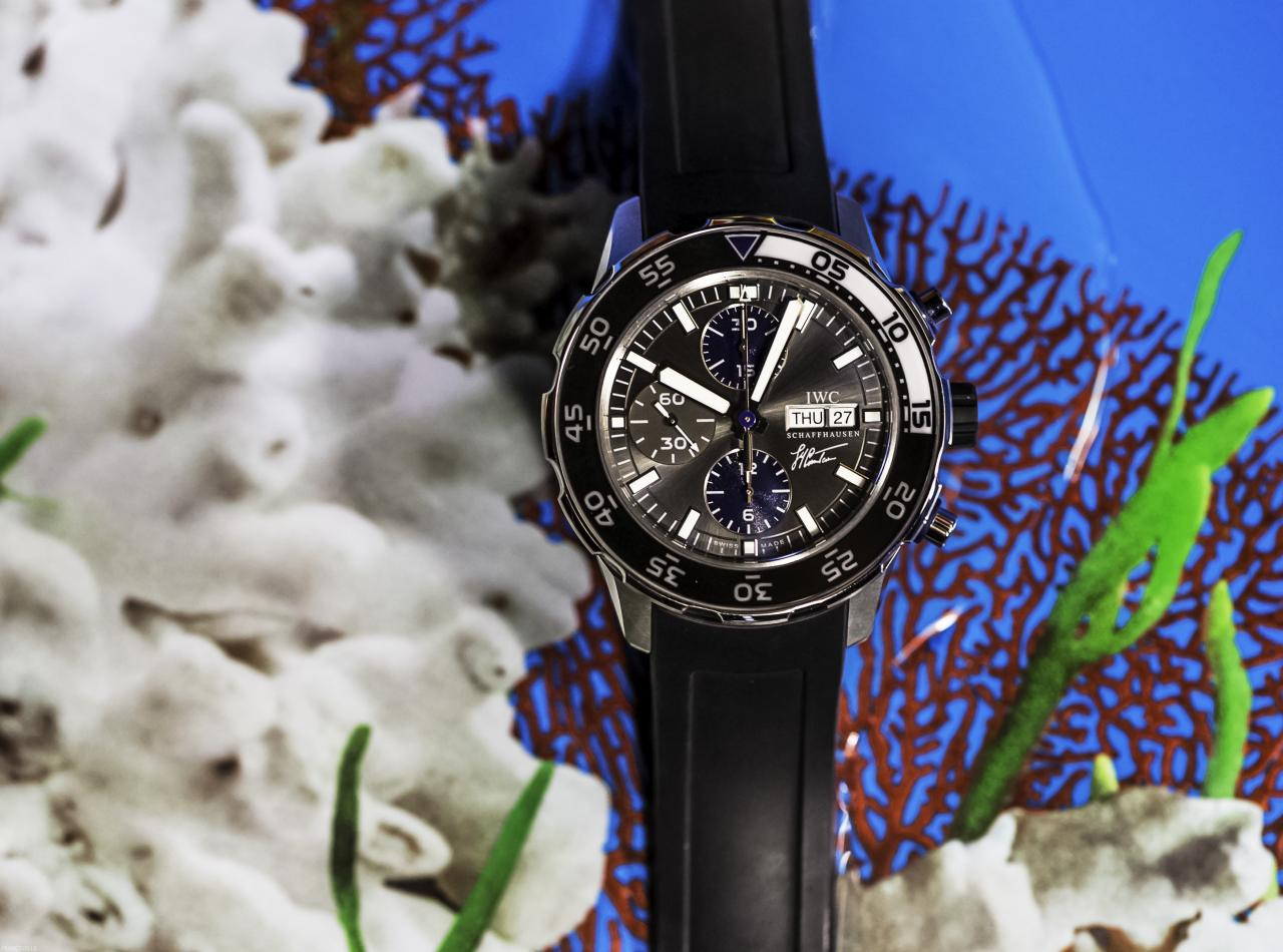 IWC Aquatimer Chronograph Cousteau IW3767-06 - for sale - Govberg via Perpetuelle