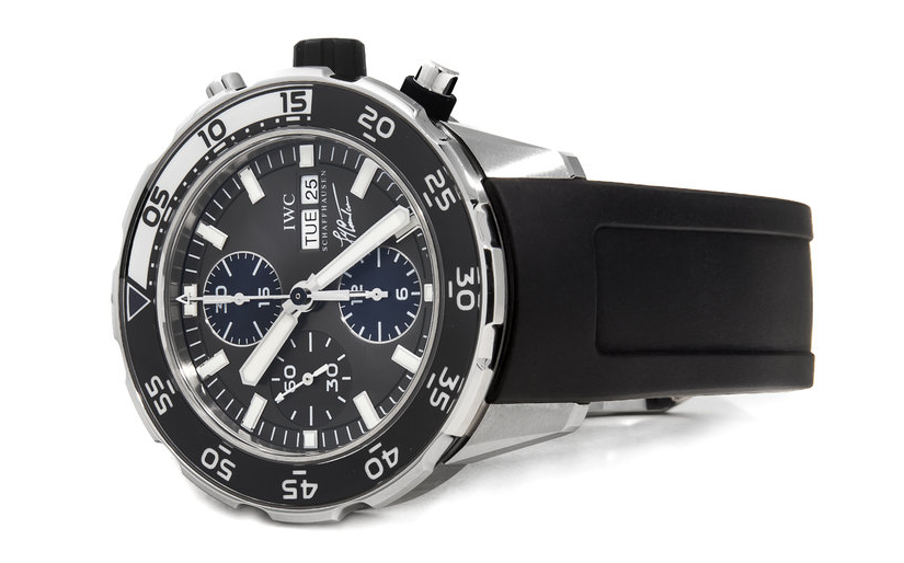 IWC Aquatimer Chronograph Cousteau IW3767-06 watch - for sale - Govberg via Perpetuelle