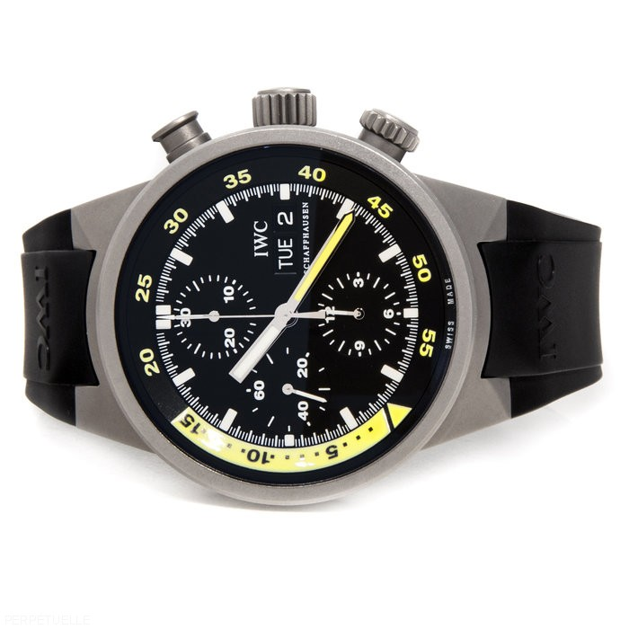 IWC Aquatimer Chronograph IW3719-18 titanium - for sale - Govberg via Perpetuelle