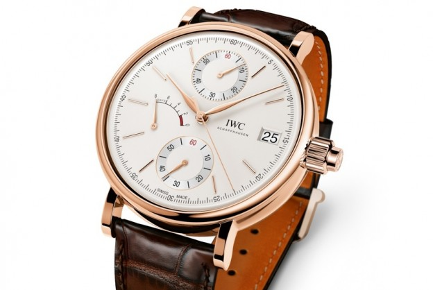 IWC Replica Portofino Hand-Wound Monopusher Chronograph Watch