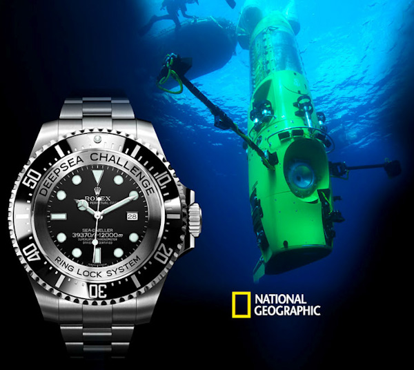 Rolex Deepsea Challenge Replica Watch Goes To Bottom Of The Ocean