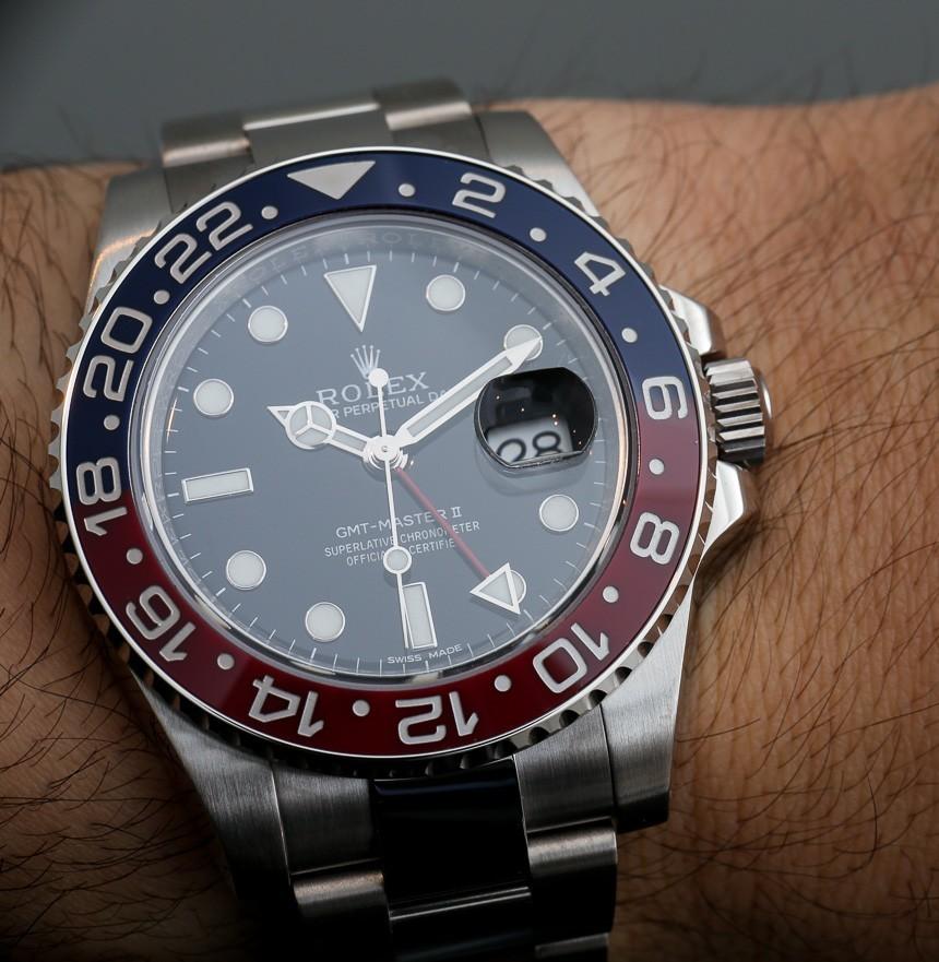 Rolex Replica Watch With Red & Blue Ceramic