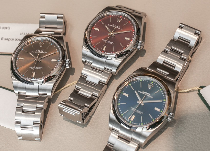 Rolex Oyster Perpetual Replica Watches New For 2016 Hands-On