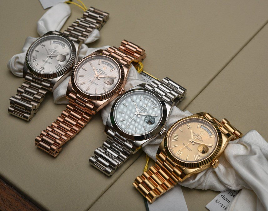Rolex Day-Date 40 Replica Watches Review