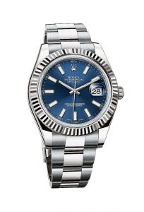 The Datejust II is available with many different dials, but only with an Oyster bracelet.