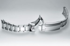 The new Datejust 41 is also available with the classical three-row Oyster bracelet.