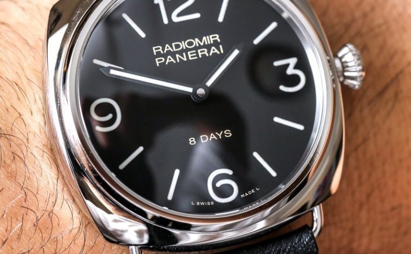 Panerai Radiomir Black Seal 8 Days PAM610 Replica Watch Review
