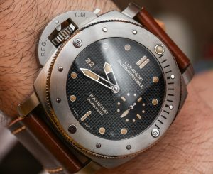 Panerai Luminor Submersible Left-Handed Titanio PAM569 Replica Watch At Best Price