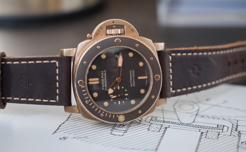 Panerai Submersible Bronzo PAM00968 Replica Watches Online