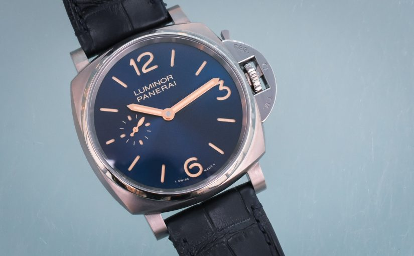 Panerai Replica Luminor Titanio 42mm, a Hint of Elegance