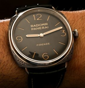 Panerai Radiomir PAM604 Engraved Replica Watch Hands-On
