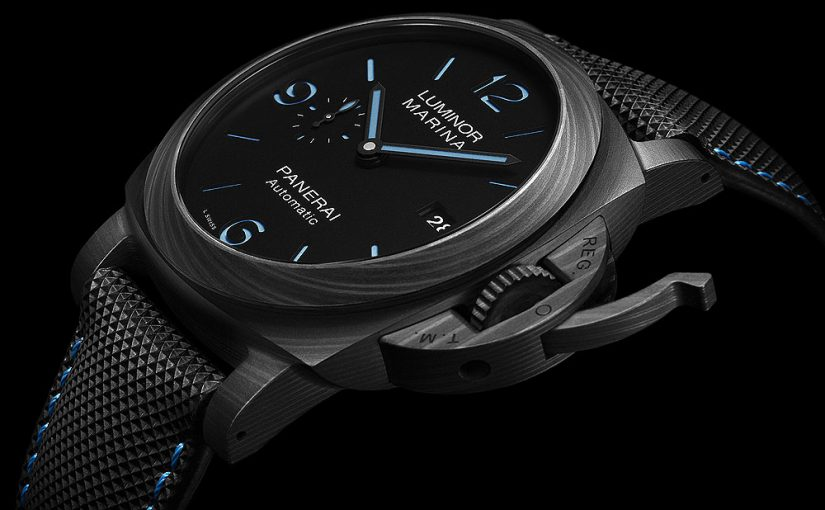 The New Panerai Luminor Marina Carbotech 44mm Replica