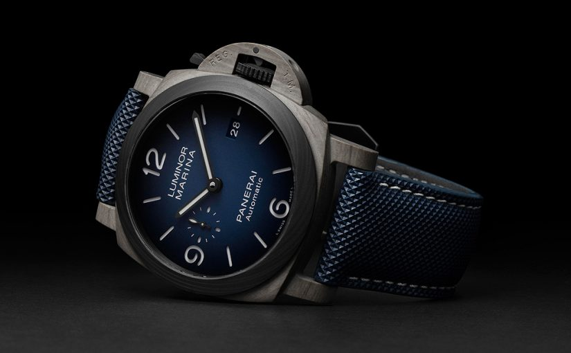 Panerai Luminor Marina Fibratech Brings Volcanic Rock to Watchmaking