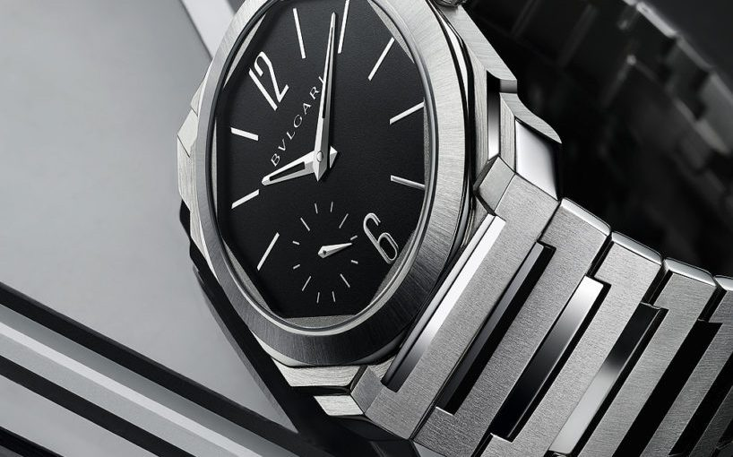 Replica Bulgari Octo Finissimo Automatic in Satin-Polished Steel