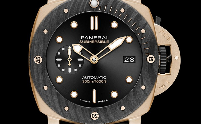 Panerai Submersible Goldtech Orocarbo 44 mm Replica Review