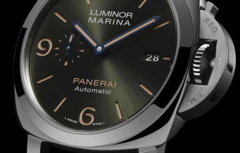 Panerai Takes Platinum To The Next Level With Luminor Marina